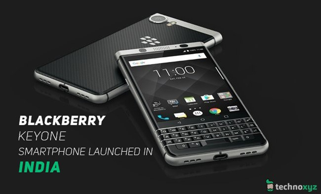Blackberry-KEYone-Smartphone-launched-in-India-Pricing-Specifications-Features-and-more-Technoxyz