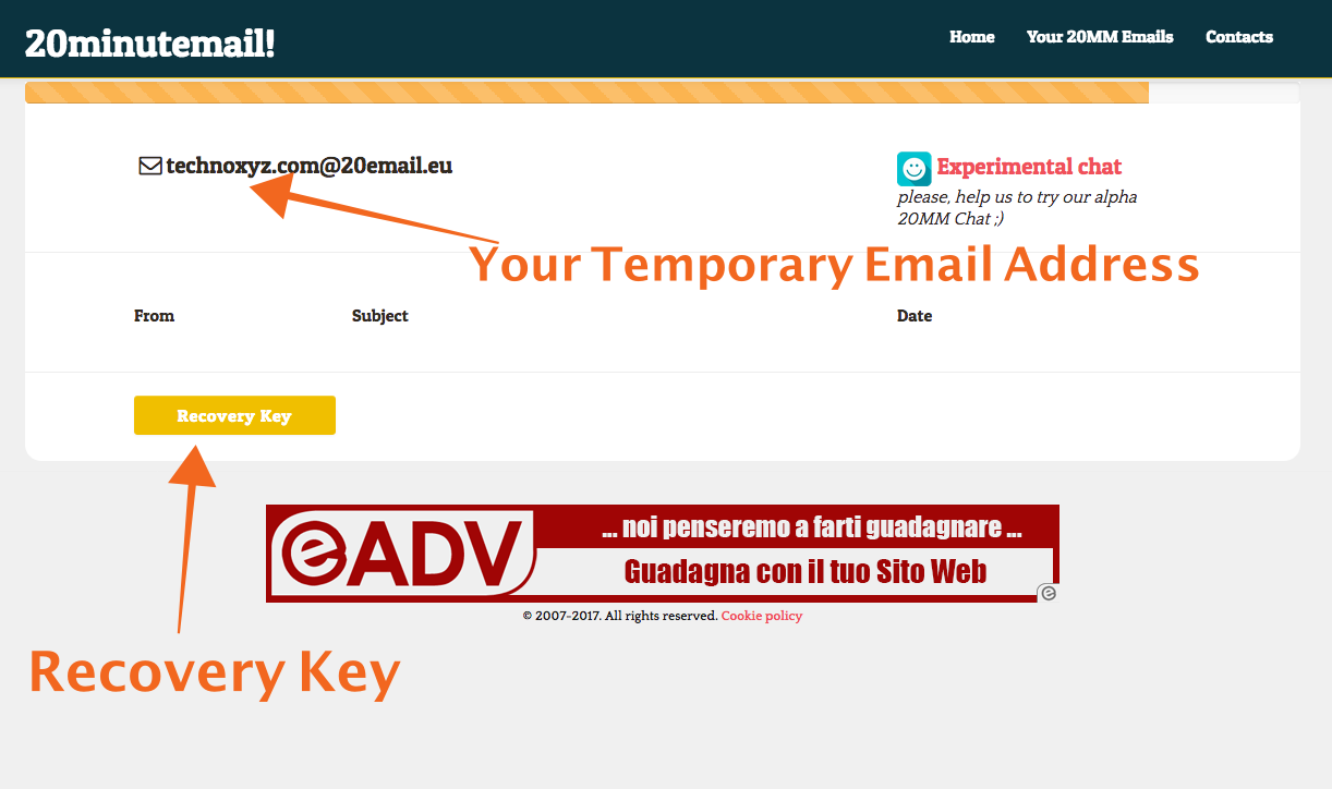 20MinuteMail-Temporary-Email-Address-Provider-Technoxyz
