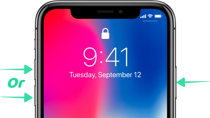 How to Take Screenshots in iPhone X Now That the Home Button is Dead-2