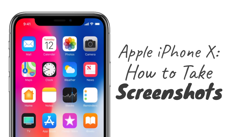 How to Take Screenshots in iPhone X Now That the Home Button is Dead