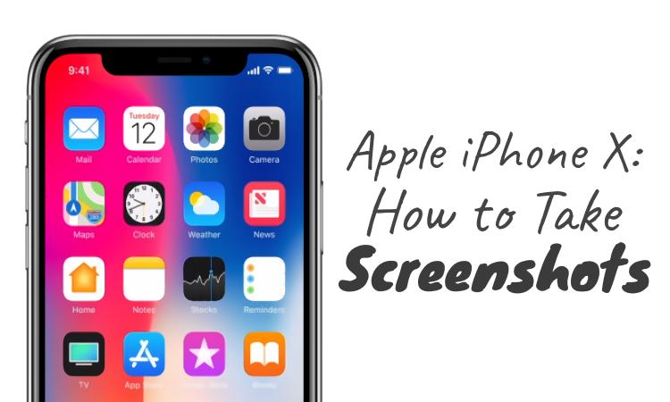 How To Take Screenshot Iphone X