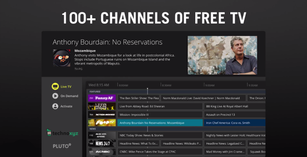 05. Pluto TV - Top 20 Best Free Roku Channels List 2018 - Movies, Music, TV, News, Kids, Sports