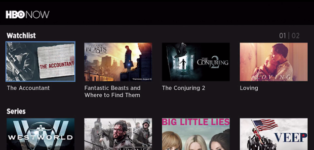 07. HBO Now - Top 20 Best Free Roku Channels List 2018 - Movies, Music, TV, News, Kids, Sports