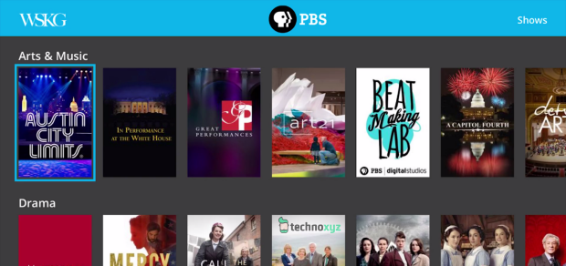 14. PBS - Top 20 Best Free Roku Channels List 2018 - Movies, Music, TV, News, Kids, Sports