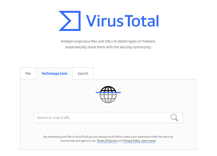 VirusTotal - Top Cool and Most Interesting Websites Names List for Fun & to Kill Pass Time When Getting Bored (2018)