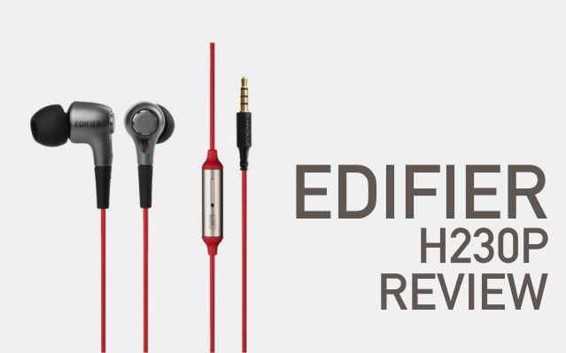 Edifier H230P Review Best Budget Super Bass Wired In-Ear Earphones