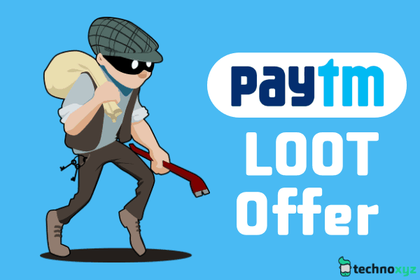 PayTM LOOT Offer 2018 - 100% Cashback [Rs. 20 Cashback on Recharge of Rs. 20]