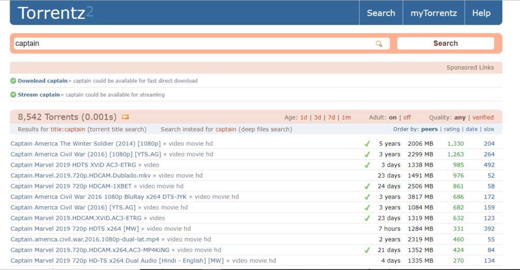 torrentz2 proxy and mirror sites by technoxyz